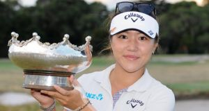 17-year-old Lydia Ko became the youngest winner of the Australian Open. (Photograph: Esther Lim/AFP/Getty Images)