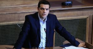Greek prime minister Alexis Tsipras.  'Syriza did what so many other leftist political groups have failed to do, and that's form a coalition.'  Photograph: Simela Pantzartzi/EPA.