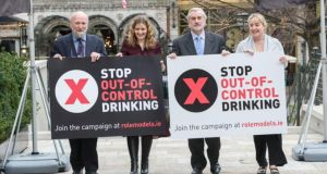 Stop Out-of-Control Drinking: the campaign is run by an independent board and the board is made up of people from different walks of life. Photograph: Brenda Fitzsimons