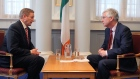 Political Editor Stephen Collins interviews Enda Kenny about the issues of the day, including Greece, the same-sex marriage referendum and the Fine Gael/Labour coalition. Video: Daniel O' Connor/Bryan O' Brien