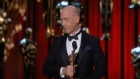 Patricia Arquette wins best supporting actress, JK Simmons wins best supporting actor, Alejandro Gonzalez Inarritu win for best direction, 'Citizenfour' is best documentary feature and 'Big Hero 6' wins best animated feature. Video: Reuters