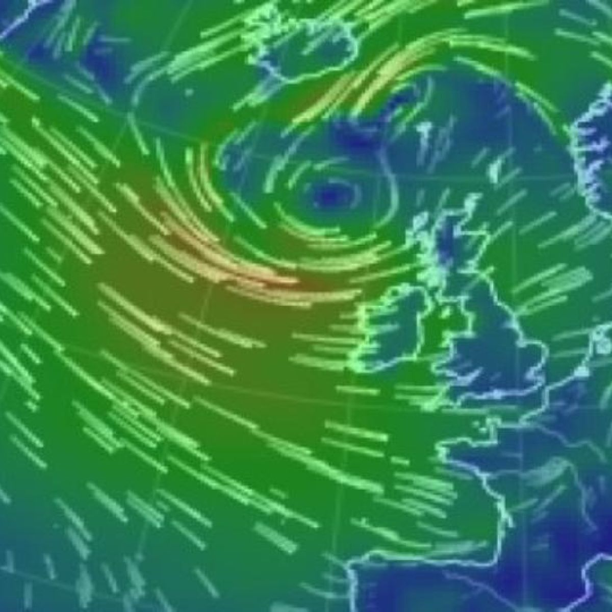 Warnings Issued Over 130km H Gales And Snow And Ice