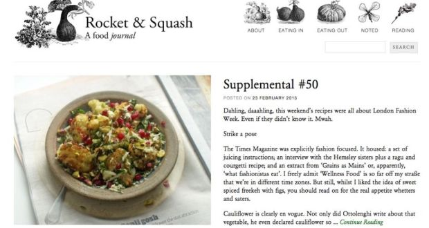 Rocket and Squash food blog gives foodies tasty, well