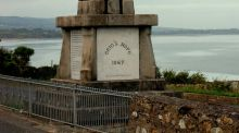 Monument in Helvick, Co Waterford, to Fenian gun-running voyage in 1867