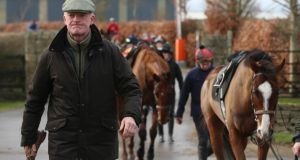 Willie Mullins has expressed his desire to  nail a Cheltenham Gold Cup win after several near misses.  Photograph: Niall Carson/PA