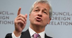 JPMorgan Chase chief executive Jamie Dimon is one of the powerful business leaders who has lectured about the so-called 'skills gap'. Photoraph: Yuri Gripas/Reuters