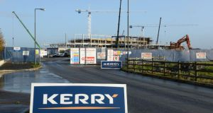Kerry Group's new innovation centre, in Millennium Park, Naas, Co. Kildare. The company said today that it is on schedule to open by the middle of 2015. (Photograph: Dara Mac Dónaill / THE IRISH TIMES)