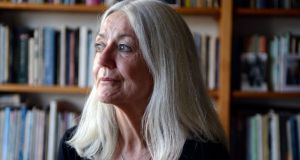 """I'm just delighted I survived. I still can't believe it. I keep  reminding myself I'm only a whippersnapper. If I glimpse myself in a mirror, it's like, who's that?"" Paula Meehan,  at her  home in Dublin. Photograph: Dave Meehan"
