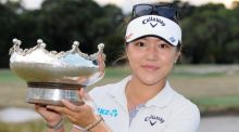 Lydia Ko won the women's Australian Open, but what's in her bag? (Photograph: ESTHER LIM/AFP/Getty Images)