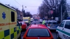 Czech media report eight dead in restaurant shooting. Video: Reuters