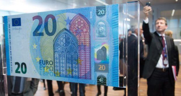 歐洲央行 Europese Centrale Bank (ECB) 將在11月推出20 Euro 歐元新鈔