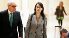 Ellen Pao  and attorney Alan Exelrod walk to their courtroom before the start of her trial at San Francisco Superior Court in San Francisco, California. Photograph:  REUTERS/Beck Diefenbach
