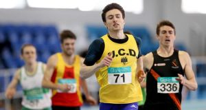 Mark English has been combining his athletics preparations with his third year of medical studies at UCD. Photograph: Ryan Byrne/Inpho