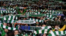 Celtic have been fined due to fan disturbances during an Europa League tie. Photograph Claudio Villa/Inpho