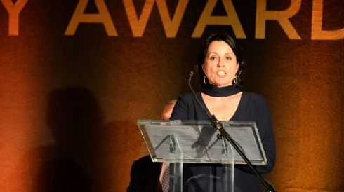 24/02/2015 - NEWS -  Tara Quirke, at the 44th Annual Hennessy Literary Awards which recognise and reward emerging Irish writers and poets in the literary sphere.  Photograph: Dara Mac D?naill / The Irish Times         Photograph: Dara Mac Donaill / The Irish Times