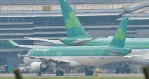 The union Siptu will seek assurances on the future of 1,500 Aer Lingus jobs before deciding whether or not to back the bid. Photograph: Alan Betson/The Irish Times