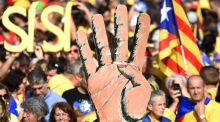 Pushing for change: Catalonia's independence movement, like Ireland's, sprang from a cultural renaissance. Photograph: Lluis Gene/AFP/Getty