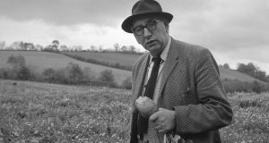 Patrick Kavanagh. Photograph: The Wiltshire Collection, National Library of Ireland