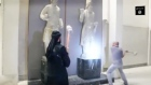 Islamic State posts video of its fighters destroying museum exhibits dating back thousands of years. Video: Reuters