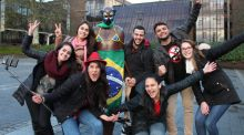 Brazil Independence day at University of Limerick