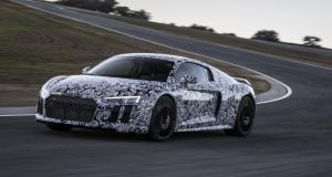 Audi's all-new R8 at the Ascari private racetrack: What is a surprise is that the R8 seems, feels, to have matured just so much in its transition to its second generation