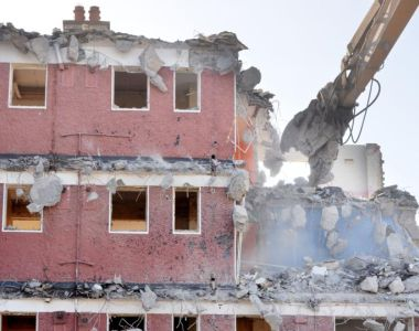 The council is to demolish all of the more than 300 flats in the complex, most of which are  empty, and to rebuild less housing on the site. Photograph: Alan Betson/The Irish Times
