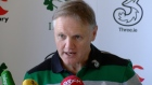 Ireland head coach Joe Schmidt has made one change to his starting 15 to face England at the Aviva Stadium. Video: Daniel O'Connor