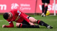 Robin van Persie will miss Manchester United's Premier League clash against Sunderland at Old Trafford with the ankle injury he picked up in last weekend's defeat to Swansea. Photograph: Stu Forster/Getty Images