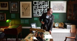 The Little Museum of Dublin is all that's good about Dublin.' Above, curator Simon O'Connor in the museum. Photograph: Eric Luke