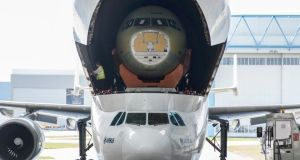 Aerospace group said it would increase production of the A320 jet family to a record 50 a month