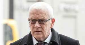 Oliver Kierans (57) has been found guilty of the manslaughter of his wife Patricia in Cavan in 2013. Photograph: Collins Courts