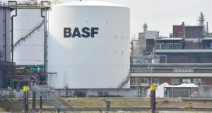 BASF says lower oil prices affecting profit. Photograph: EPA