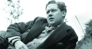 Dylan Thomas (1914-1953) in 1946: Mere mention of Wales for many is sufficient to ponder on the greatness of Dylan Thomas, a wayward genius whose eloquent fury continues to beguile, excite and inspire. Photograph: Picture Post / Hulton Archive / Getty Images