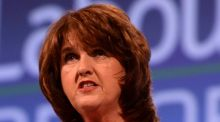 Joan  Burton said the Coalition was building the economic recovery and with it new jobs and opportunities for people.  Photograph: Cyril Byrne/The Irish Times