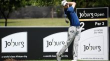 Kevin Phelan of Ireland tees off on the second during the final round of the Joburg Open at Royal Johannesburg and Kensington Golf Club. Photograph: Warren Little/Getty Images