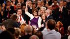 Labour Party conference: Joan Burton tries not to raise her voice