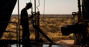 Tullow Oil was last trading at about 381 pence in London, down by about 52 per cent since March 2014.( Photograph: Brittany Sowacke/Bloomberg)
