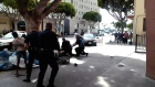 Amateur footage captures LA police killing homeless man