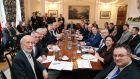 The reduction in the number of departments was suggested during the Stormont House Agreement. Photograph: Kelvin Boyes/Press Eye/PA Wire