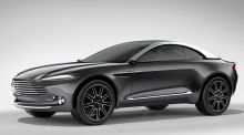 Geneva motor show: Aston Martin springs surprise with high-riding DBX