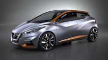 Geneva motor show: Nissan's Sway concept ditches Micra's dull look