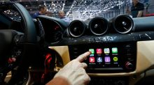 Geneva motor show: Car giants welcome suggestions of Apple and Google rivals