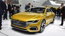 Geneva motor show: VW wants new CC to slip between Passat and Phaeton