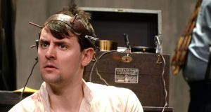 Peter Campion: a well-judged performance as Katurian K Katurian. Photograph: Cyril Byrne