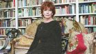 "Edna O'Brien  in her London home: ""Edna writes about men and women, love, Ireland. Her inner landscape is full of yearning, quivering passion, fanatic hearts."" Photograph:  Frank Miller"