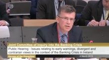 Banking Inquiry: Lenihan warned about banks before guarantee