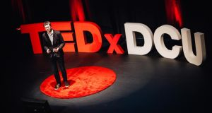 TEDx talk: Adam Harris tries to give the  audience at DCU an insight into being a person on the autistic spectrum.