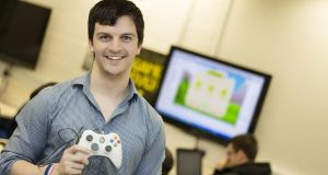 Michael Whelan, games development student at Carlow IT