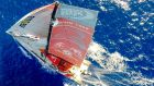 The Dongfeng race team during the fourth leg of the Volvo Ocean Race last month.