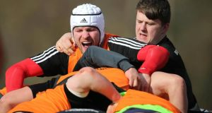 Donnacha Ryan returns to the Munster matchday squad. Photograph: Cathal Noonan/Inpho